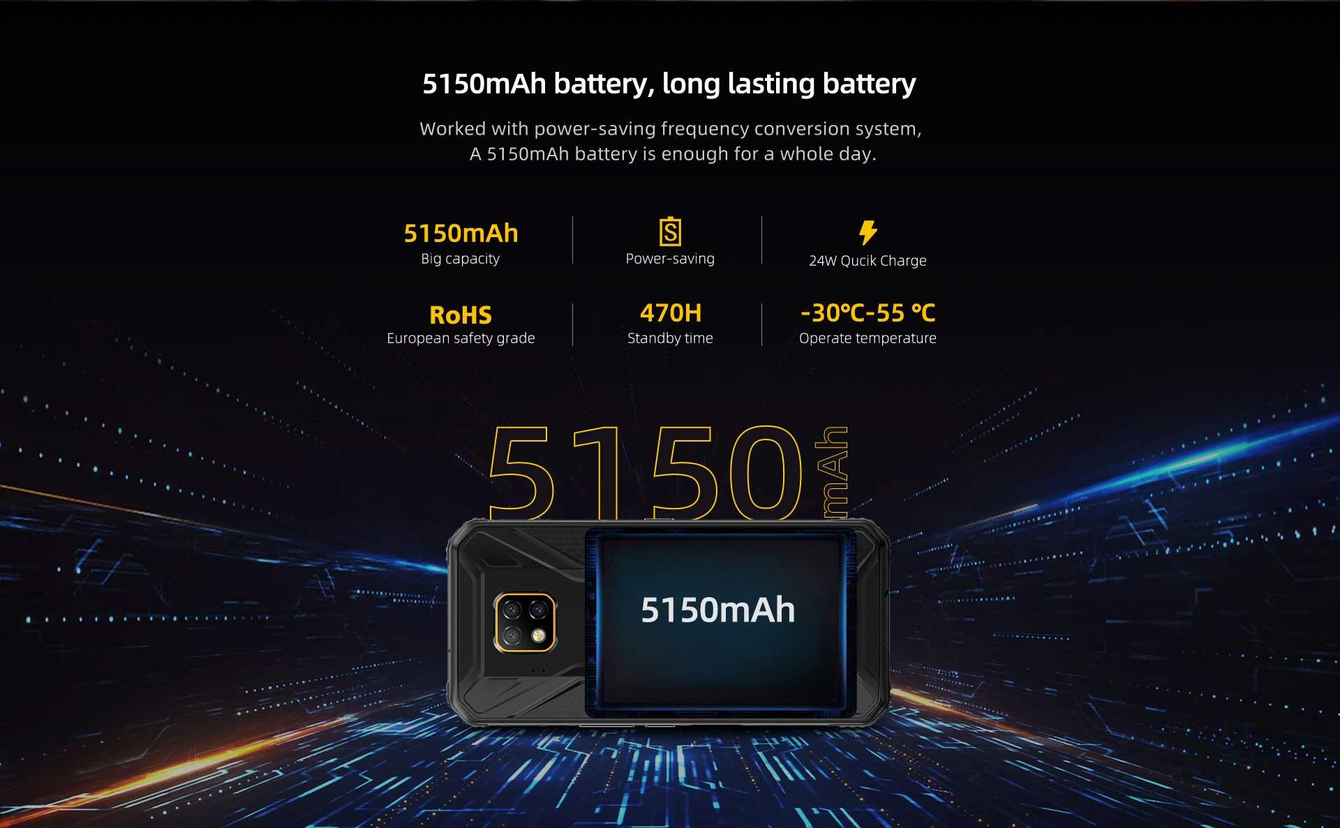 Doogee S95 rugged smartphone