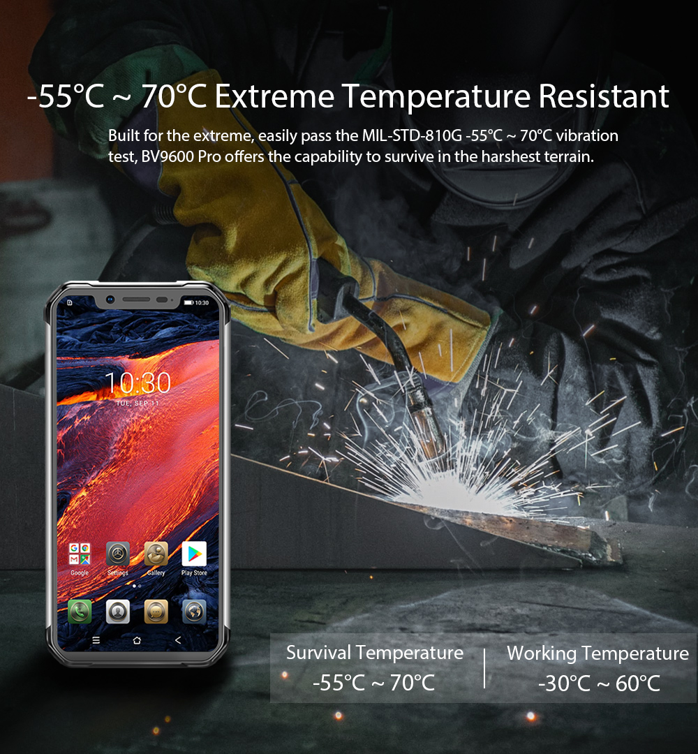 Blackview BV9600 pro rugged phone